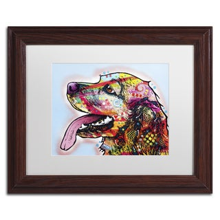 Dean Russo 'Cocker Spaniel' Matted Framed Art