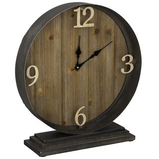 Cooper Classics Wood Rosenburg Clock