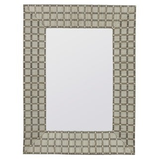 Maeve White Wall Mirror
