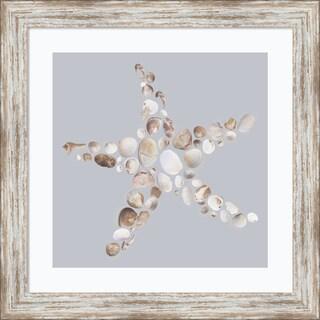 Framed Art Print 'Starfish' by Justin Lloyd 18 x 18-inch