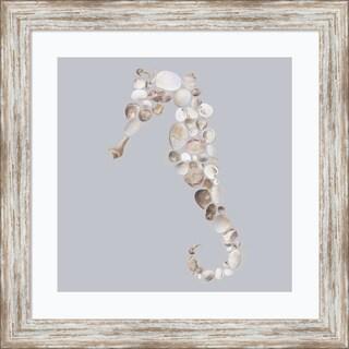 Framed Art Print 'Seahorse' by Justin Lloyd 18 x 18-inch