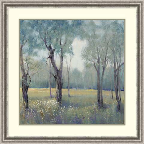 Framed Art Print 'Morning Mist' by Tim O'Toole 33 x 33-inch
