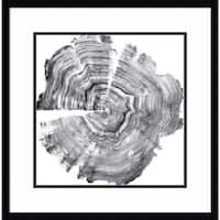 Framed Art Print 'Tree Ring Abstract IV' by Ethan Harper 23 x 23-inch