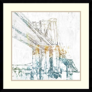Framed Art Print 'Crossing Over I' by Studio W 24 x 24-inch