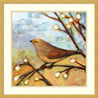 Framed Art Print 'Longing for You Part II Bird' by Jennifer Lommers 21 x 21-inch