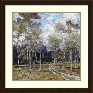 Framed Art Print 'Summer in the Hills' by Robert Moore 22 x 22-inch