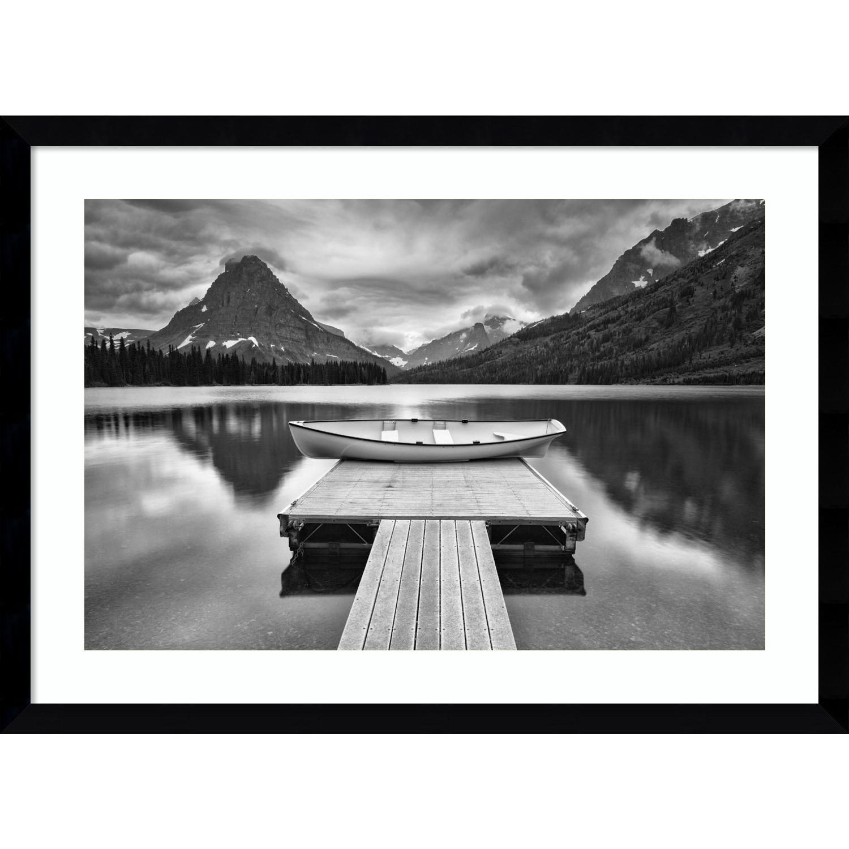 Amanti Art Framed Art Print 'Two Medicine Lake' by Jason ...