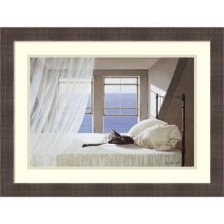 Framed Art Print 'Nap Time' by Zhen-Huan Lu 25 x 19-inch