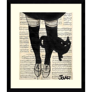 Framed Art Print 'This be Cat' by Loui Jover 17 x 20-inch