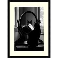 Framed Art Print 'Reflection' by Tom Artin 17 x 23-inch
