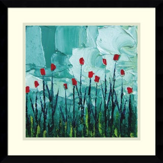 Framed Art Print 'Stories from a Field Act 22' by Aja Trier 17 x 17-inch