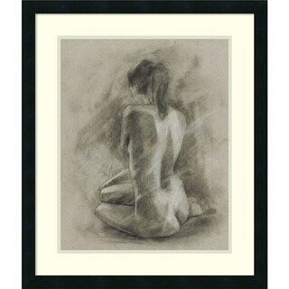 Link to Framed Art Print 'Charcoal Figure Study II' by Ethan Harper Similar Items in Art Prints