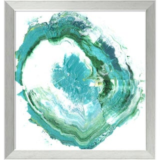 Framed Art Print 'Geode Abstract II' by Ethan Harper 18 x 18-inch