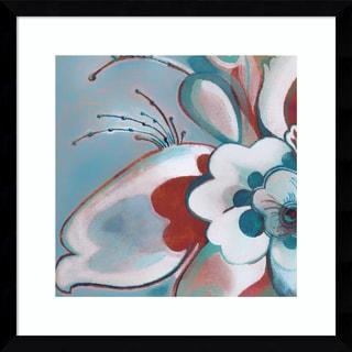 Framed Art Print 'Beyond' by Sue Damen 17 x 17-inch