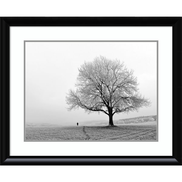 Framed Art Print \'Serenity\' by Ilona Wellmann 33 x 27-inch - Free ...