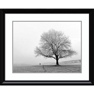 Framed Art Print 'Serenity' by Ilona Wellmann 33 x 27-inch