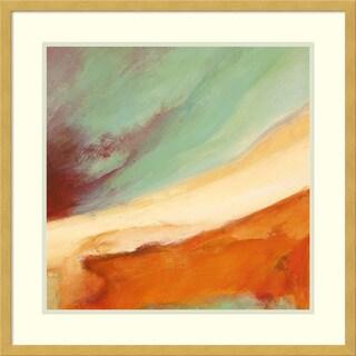 Framed Art Print 'NamastA (c) III' by Jean-luc Demos 24 x 24-inch