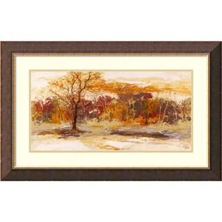 Framed Art Print 'Foresta II' by Christine Lucas 33 x 21-inch
