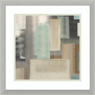Framed Art Print 'Aqua II' by Italo Corrado 17 x 17-inch