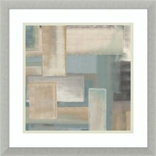 Framed Art Print 'Aqua I' by Italo Corrado 17 x 17-inch