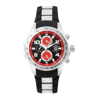 Aquaswiss TR802003 Trax II Black/Red Stainless-steel Unisex Watch
