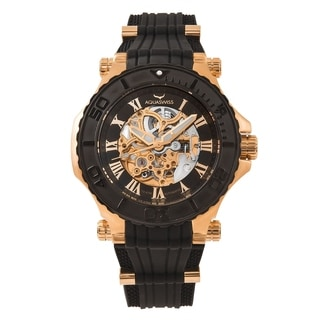 Aquaswiss Unisex 39GA003 Black/Rosegold Watch