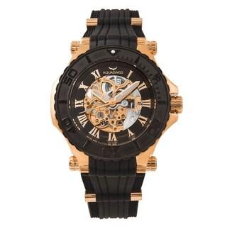 Aquaswiss Unisex 39GA003 Black/Rosegold Watch