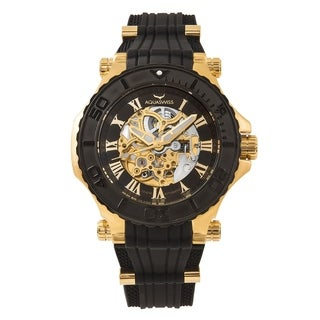 Aquaswiss Unisex 39GA002 Black/Gold Watch