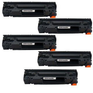 5PK Compatible CE285A Toner Cartridge For HP LaserJet P1102 , M1212nf MFP ( Pack of 5 )