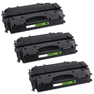 3PK Compatible CE505X Toner Cartridge For HP LaserJet P2055 , P2055d , P2055dn , P2055x ( Pack of 3 )