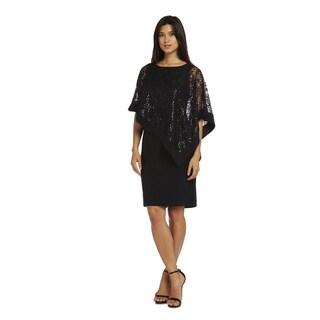 R&M Richards Poncho Dress