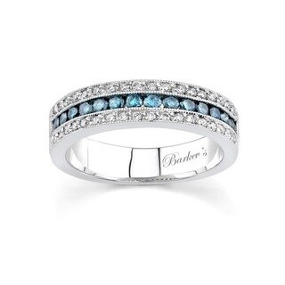 Barkev's Designer 14k White Gold 5/8ct TDW Diamond White Gold Band (More options available)