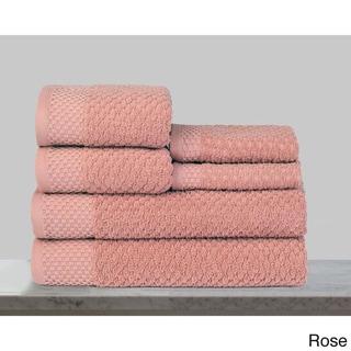 Kempsey 100-percent Turkish Cotton 6-piece Towel Spa Set