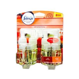 Febreze Noticeables Dual Scented Refills, Wild Berries and Sweet Fruit, 2 Total Refills
