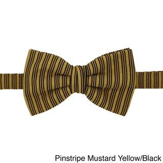 Ferrecci Mens Premium Adjustable Multi Style Bowtie - M