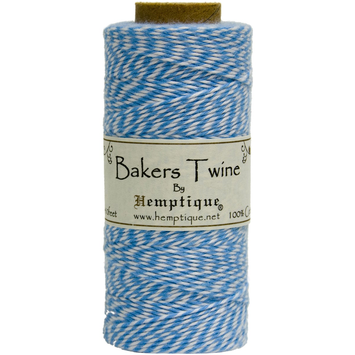 Cotton Baker's Twine Spool 2-Ply 410' (Blue)