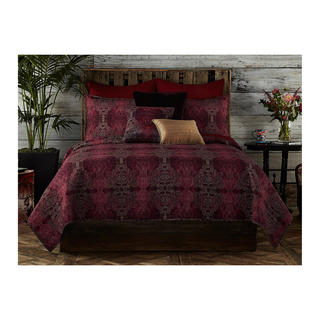 Tracy Porter Gigi Red Damask Quilt