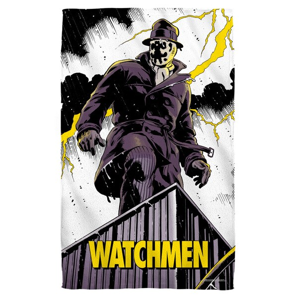 Watchmen/Perched Bath Towel