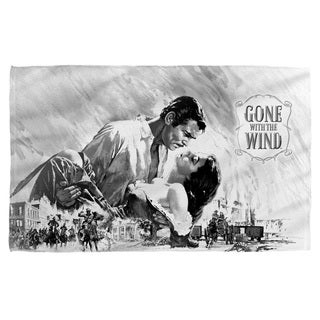 Gone With The Wind/Bw Poster Bath Towel