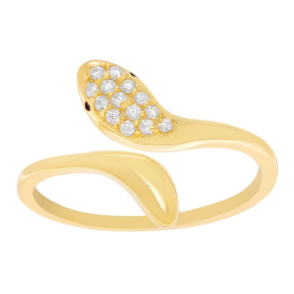 Gold Wrap Toe Ring