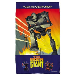 Iron Giant/It Came From Space Bath Towel