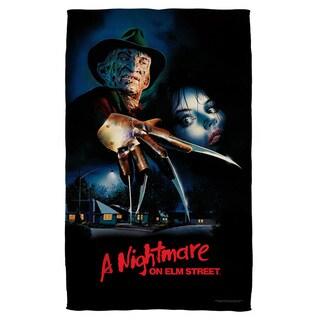 Nightmare On Elm Street/Freddy Poster Bath Towel
