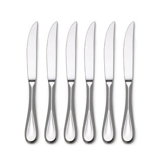 Mikasa Bravo Stainless Steel Steak Knives (Set of 6)