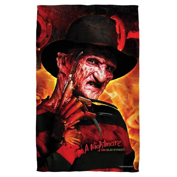 Nightmare Of Elm Street/Freddy'S Boiler Room Bath Towel