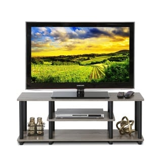 Furinno Turn-N-Tube No Tools 3-tier Entertainment TV Stand