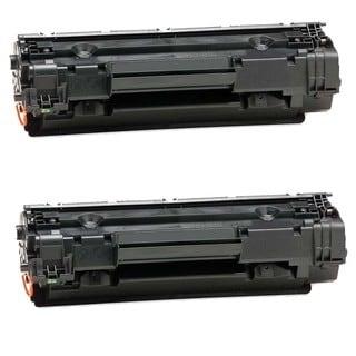 2PK Compatible CB435 Toner Cartridge For HP LaserJet P1002, P1003, P1004, P1005, P1006, P1009 ( Pack of 2 )