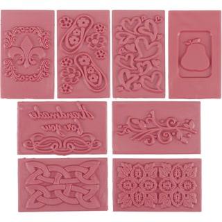 Soap Embossing Stamp Assortment 8/Pkg