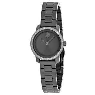 Movado Women's 3600226 Bold Round Gray Dial Stainless Steel Bracelet Watch