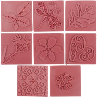 Soap Embossing Stamp Assortment 8/Pkg