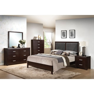 Ajay Espresso 4-piece Bedroom Set